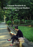 Cover for Current Research in Education and Social Studies  Vol. 3