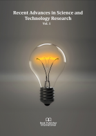 Cover for Recent Advances in Science and Technology Research Vol. 1