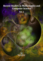 Cover for Recent Studies in Mathematics and Computer Science Vol. 2