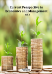 Cover for Current Perspective to Economics and Management Vol. 1
