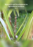 Cover for Research and Development in Agricultural Sciences Vol. 3