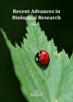 Cover for Recent Advances in Biological Research Vol. 1