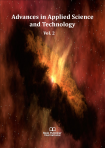Cover for Advances in Applied Science and Technology Vol. 2