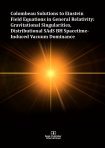 Cover for Colombeau Solutions to Einstein Field Equations in General Relativity: Gravitational Singularities, Distributional SAdS BH Spacetime-Induced Vacuum Dominance