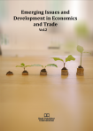 Cover for Emerging Issues and Development in Economics and Trade Vol. 2