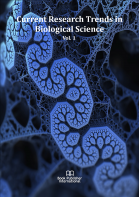 Cover for Current Research Trends in Biological Science Vol. 1