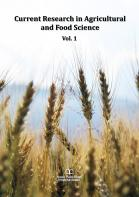 Cover for Current Research in Agricultural and Food Science Vol. 1
