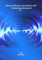 Cover for Recent Advances in Science and Technology Research  Vol. 5