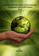 Cover for International Research in Environment, Geography and Earth Science  Vol. 5