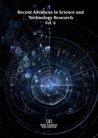 Cover for Recent Advances in Science and Technology Research  Vol. 6