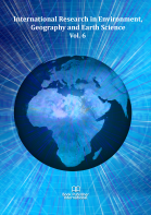 Cover for International Research in Environment, Geography and Earth Science  Vol. 6
