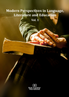 Cover for Modern Perspectives in Language, Literature and Education  Vol. 1