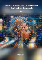 Cover for Recent Advances in Science and Technology Research  Vol. 7