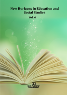 Cover for New Horizons in Education and Social Studies  Vol. 6