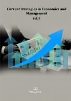Cover for Current Strategies in Economics and Management  Vol. 8