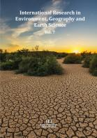 Cover for International Research in Environment, Geography and Earth Science  Vol. 7