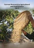 Cover for Current Research in Agricultural and Food Science  Vol. 3